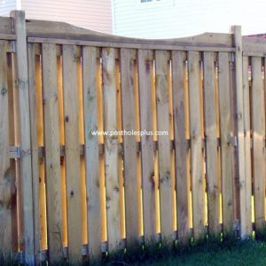Scallop Fence